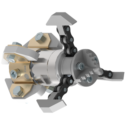 ENZ Turbine Chain Scraper