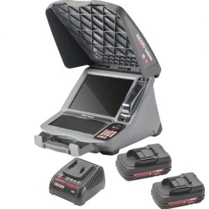 Ridgid CS12X Digital Recording Monitor Wi-Fi 2 Battery Kit