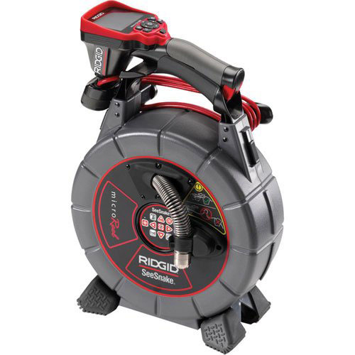 Ridgid SeeSnake 65 Feet MicroDrain D65S and CA-350 Camera with 2 Batteries