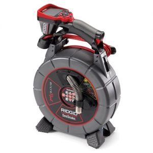Ridgid SeeSnake 100 Feet MicroReel L100C Counter and CA-350 Camera with 2 Batteries